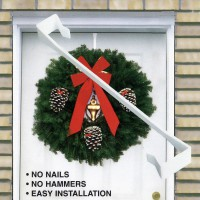 Our custom designed EZ Hangers allow you to easily display your Christmas Wreath or Spray in seconds. No nail or hammers. The Christmas Wreath EZ Hanger fits on almost all doors. Can also be used for household purposes such as hanging towel or clothes on interior doors! Another great 'add on' sale for your Christmas Wreath Fundraising Program.