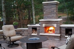 Fire Feature: Lakeside Fireplace